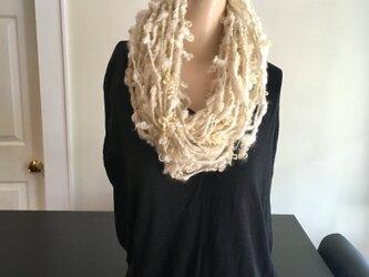 Art yarn necklace scarf アートヤーン・ネックレス スカーフの画像