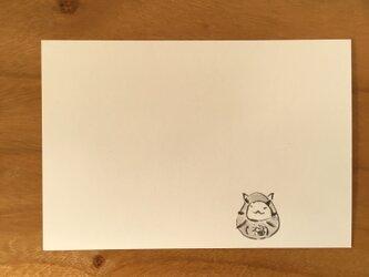 絵葉書/ポストカード <だるま>の画像