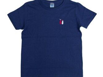 大きいサイズ!マヨネーズ&ケチャップ 刺しゅう Tシャツ ユニセックスXXLサイズ Tcollectorの画像