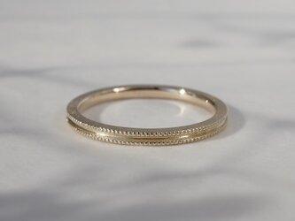 Double milgrain ring [R072K10]の画像