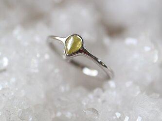 ローズカットダイヤモンド指輪の画像
