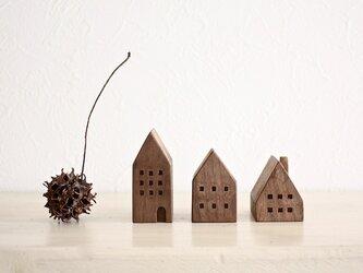 小さな木の家 ーヨーロッパの街並8ーの画像