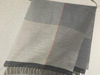 手織りストール A25の画像