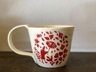 マグカップ―kakiotoshi red *danceの画像