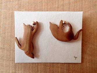 nekoasobi ピアス(14kgf)の画像