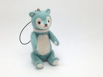 ◆ミントクマさんストラップの画像