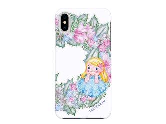 雪の妖精リース iPhoneハードケースno.164の画像