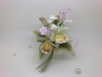 布bana✾ミニラン&かすみ草の画像