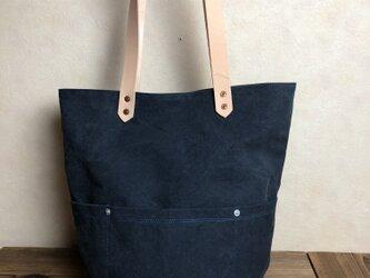 宅急便送料無料☆army duc round  bag L orangeの画像