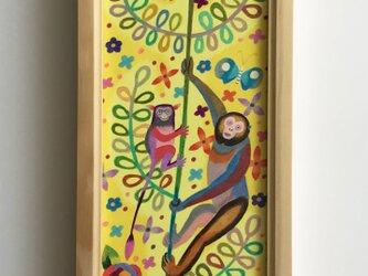 色鉛筆作品「咲いた!」の画像