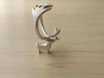 トナカイのリングの画像