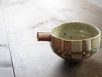 釉彩片口鉢(四角模様)の画像