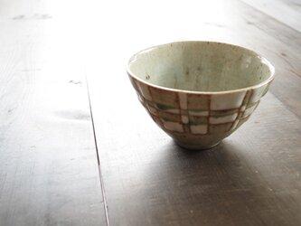 釉彩鉢(四角模様)の画像