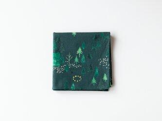 ハンカチ・おもいでの森 / グリーンの画像