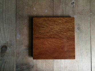 【再販】森の朝の角皿 樫 (fmsk2)の画像