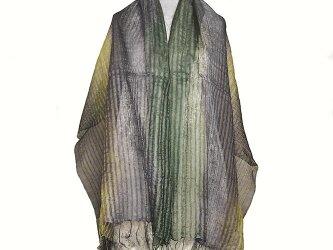 広巾絹ストールの画像