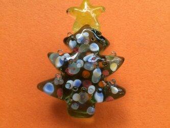 クリスマスツリーの帯留の画像