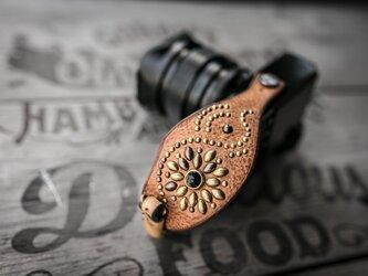 カメラハンドストラップ/ミラーレス - ヴィンテージタンの画像