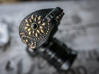 カメラハンドストラップ/ミラーレス - ヴィンテージブラックの画像