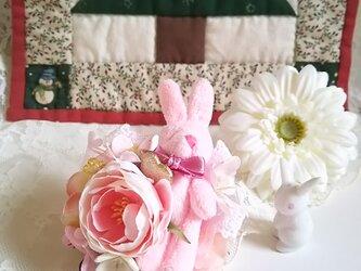**irodoru**girl's story。。**お花と仲良しウサギさんのお話。。の画像