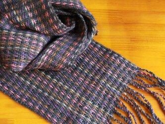 手織のマフラー 冬木立(ふゆこだち)の画像