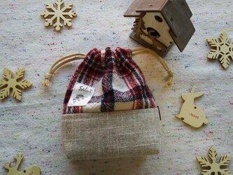 季節のミニ巾着袋  2018年冬の画像