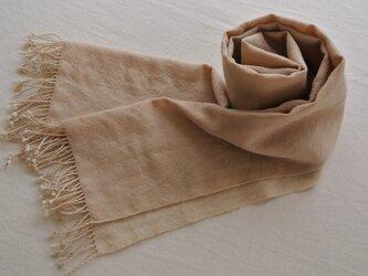 *sale* double cloth muffler #16の画像