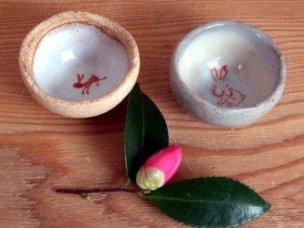 うさぎの豆鉢の画像