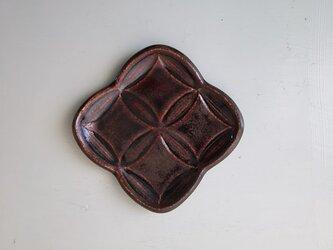 綾series/綾果(ayaka)皿Ssize (chocolate)の画像