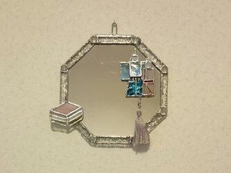 八角形の着せ替えミラーの画像
