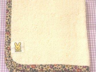 オーガニックコットンのハンカチタオルの画像