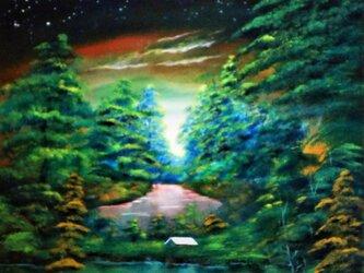 緑の惑星の画像