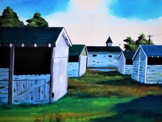静かな廃屋の画像