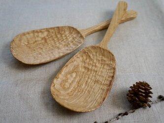 栗の木 サーバースプーンの画像