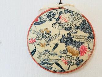 丸い壁飾り–桜の画像