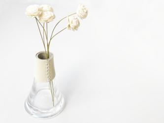 富士山花瓶のお正月セットの画像