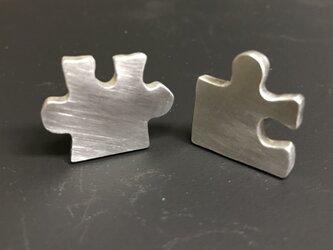 アルミイヤリング パズルの画像