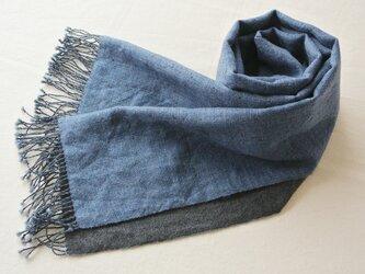 double cloth muffler #17の画像