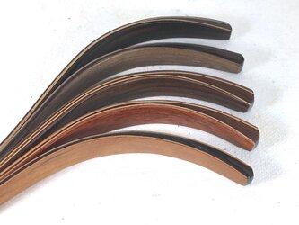新シリーズ 完璧です。木製かんざし 5材種からの画像