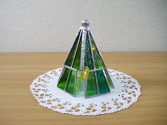 クリスマスツリー・ランプ(ステンドグラス)の画像