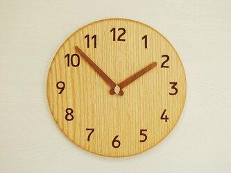 みいちゃん様 ご注文分 直径26cm 掛け時計 オーク【1802】の画像