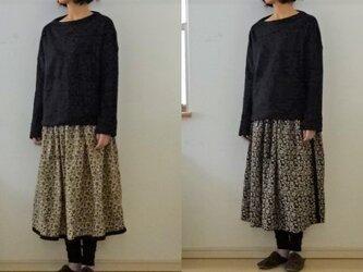 【完成品】リバーシブル ギャザースカートの画像
