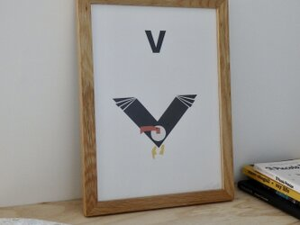 V for Vulture A4サイズポスターの画像