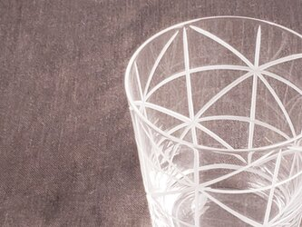 KIRIKO グラスオールド 格子花の画像