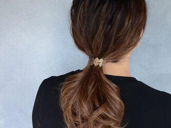 lace ヘアフックの画像