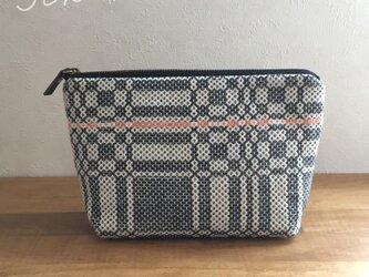 pouch[手織りポーチ]  ブラックの画像