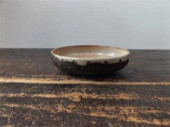 黒ドット小皿の画像