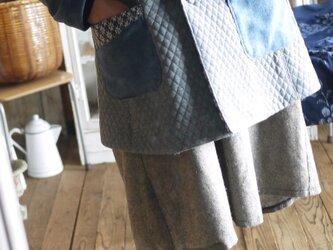 綿キルトジャケットの画像