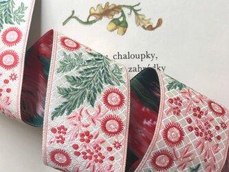 刺繍リボン1ヤード-フレンチガーランドの画像
