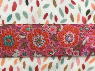 刺繍リボン1ヤード-グランドプーケフラワーモーブの画像